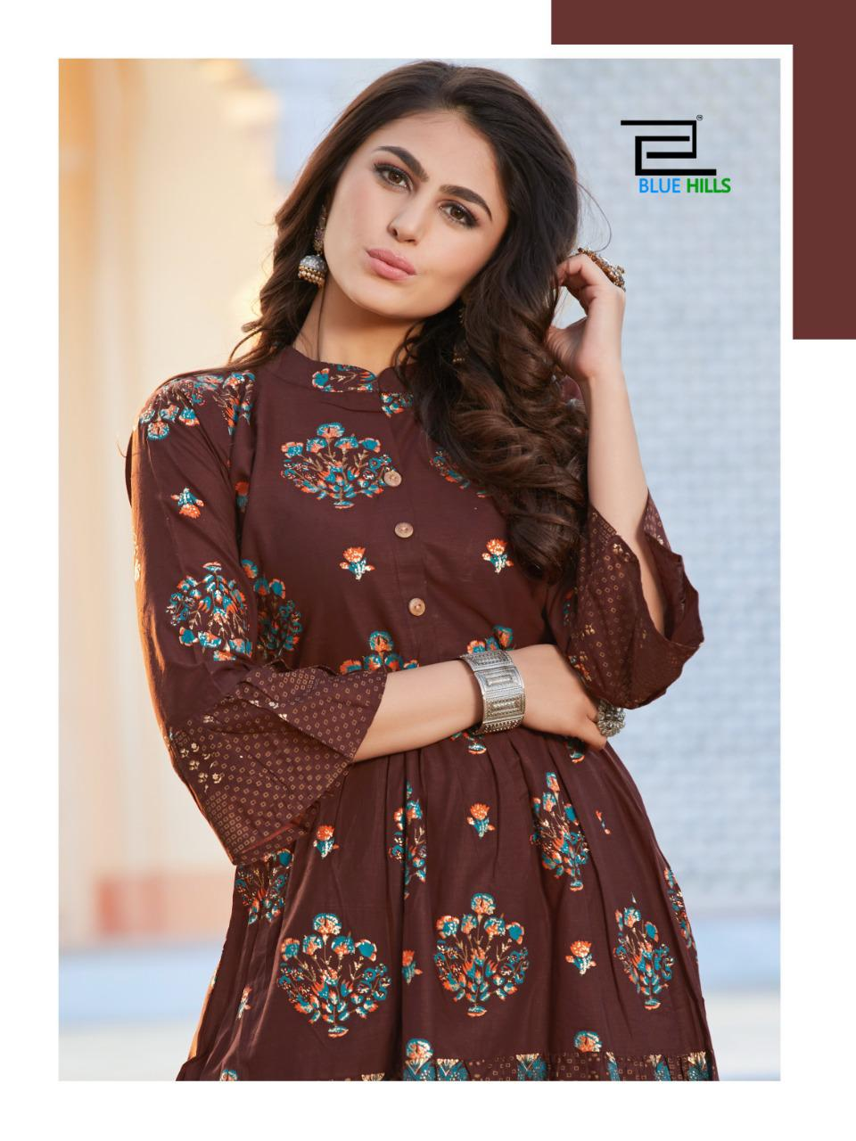 Blue Hills Gulabo Vol 1 Kurti Wholesale Catalog 8 Pcs 10 - Blue Hills Gulabo Vol 1 Kurti Wholesale Catalog 8 Pcs