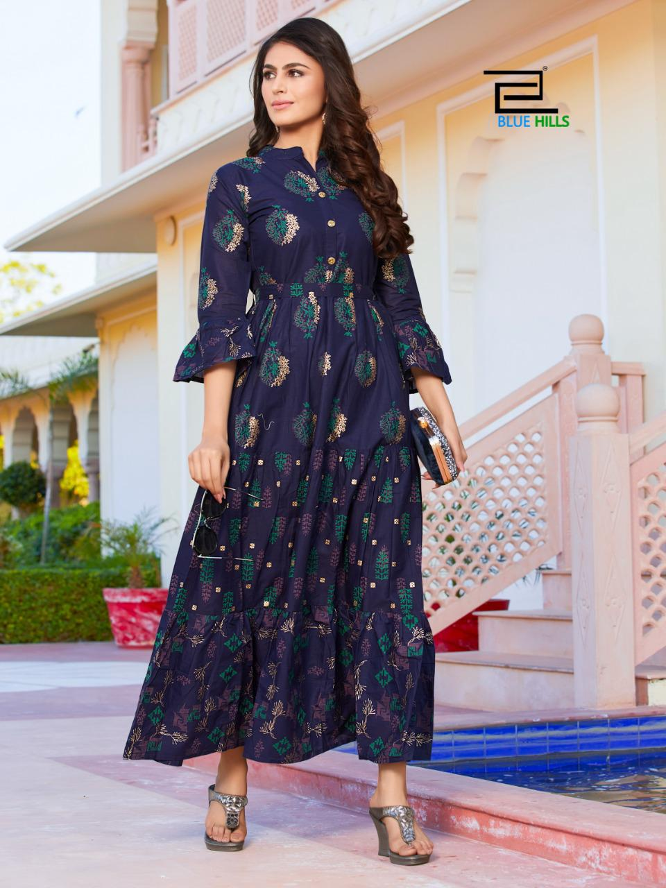 Blue Hills Gulabo Vol 1 Kurti Wholesale Catalog 8 Pcs 12 - Blue Hills Gulabo Vol 1 Kurti Wholesale Catalog 8 Pcs
