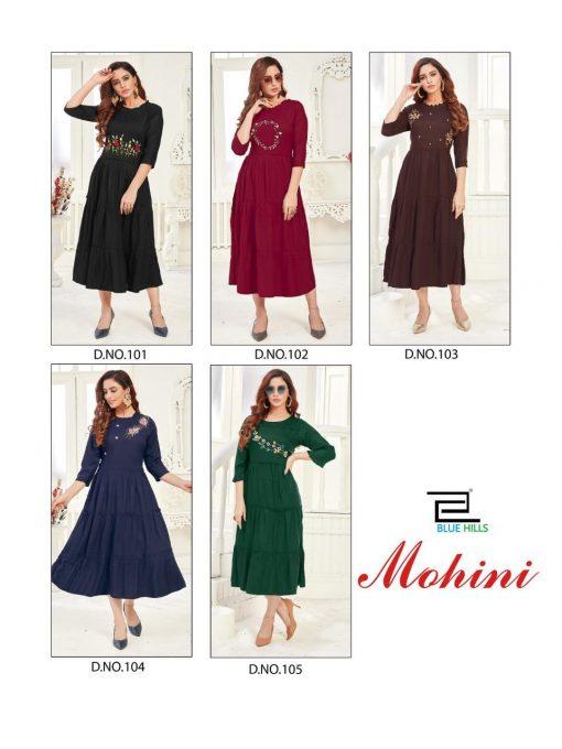 Blue Hills Mohini Kurti Wholesale Catalog 5 Pcs 11 510x680 - Blue Hills Mohini Kurti Wholesale Catalog 5 Pcs