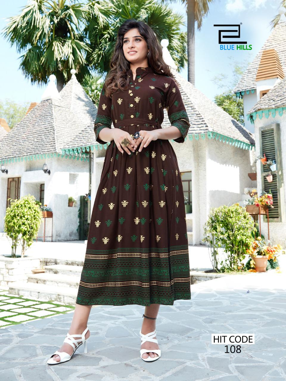 Blue Hills Walkway Hit Kurti Wholesale Catalog 10 Pcs 2 - Blue Hills Walkway Hit Kurti Wholesale Catalog 10 Pcs