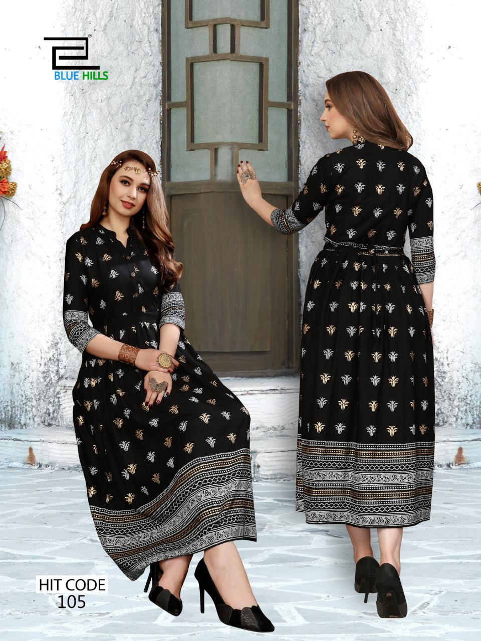 Blue Hills Walkway Hit Kurti Wholesale Catalog 10 Pcs 5 - Blue Hills Walkway Hit Kurti Wholesale Catalog 10 Pcs