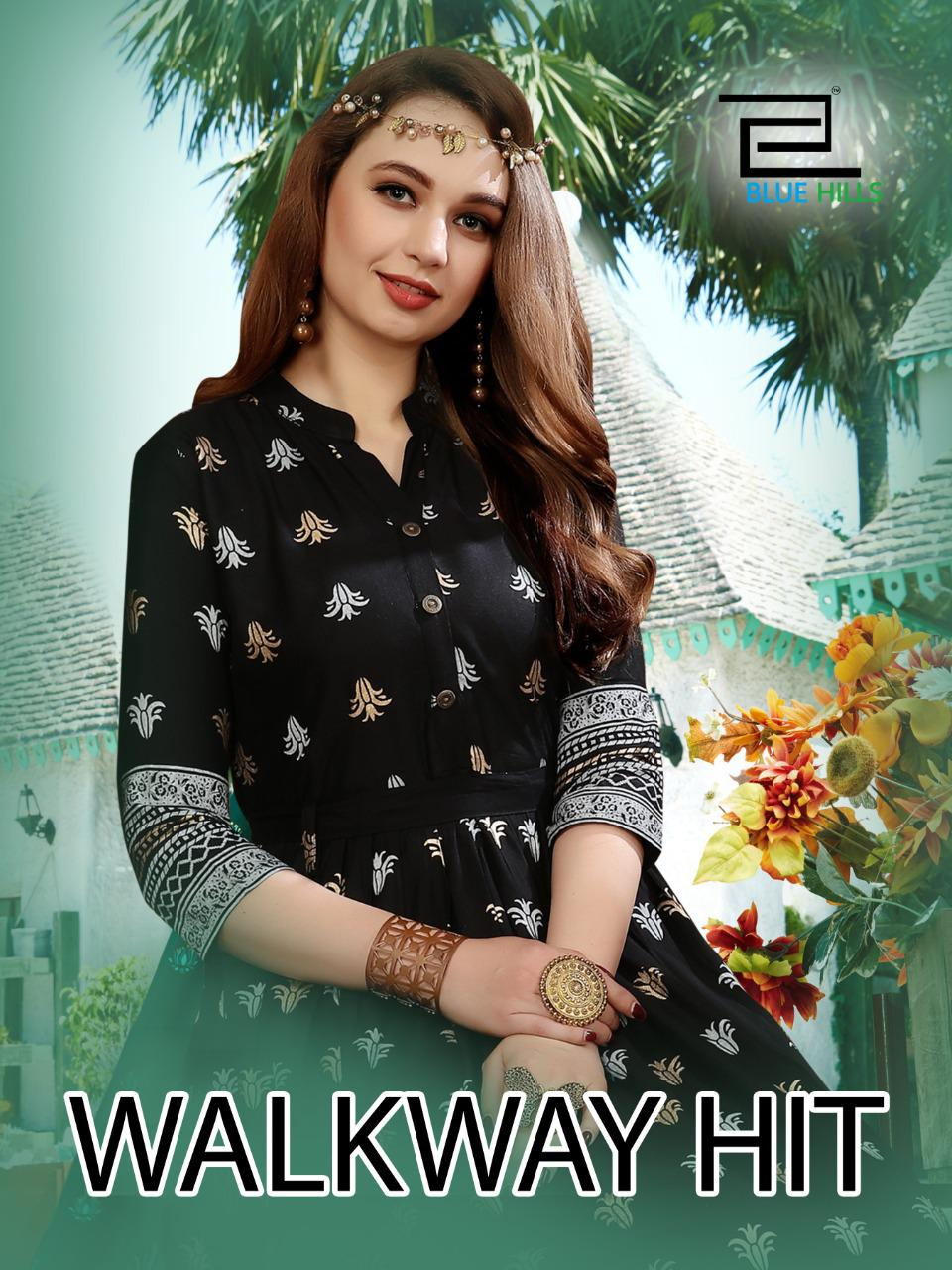 Blue Hills Walkway Hit Kurti Wholesale Catalog 10 Pcs 8 - Blue Hills Walkway Hit Kurti Wholesale Catalog 10 Pcs