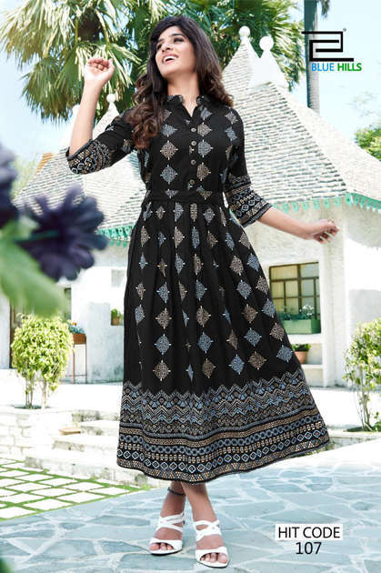 Blue Hills Walkway Hit Kurti Wholesale Catalog 10 Pcs - Blue Hills Walkway Hit Kurti Wholesale Catalog 10 Pcs