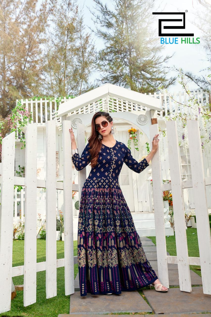 Blue Hills Walkway Vol 10 Kurti Wholesale Catalog 5 Pcs 8 - Blue Hills Walkway Vol 10 Kurti Wholesale Catalog 5 Pcs