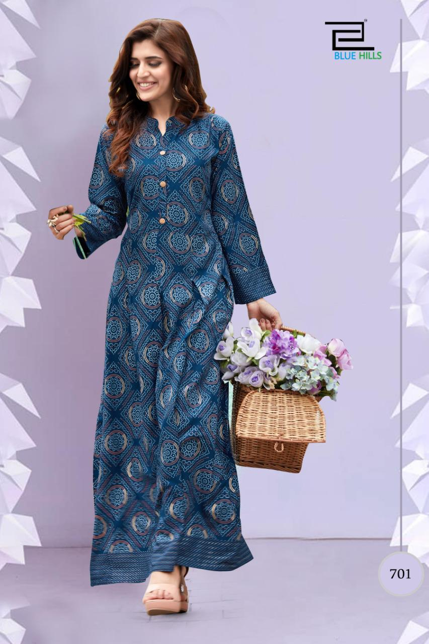Blue Hills Walkway Vol 7 Nx Kurti Wholesale Catalog 5 Pcs 1 - Blue Hills Walkway Vol 7 Nx Kurti Wholesale Catalog 5 Pcs