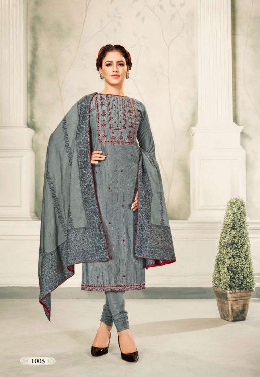 Brij Kora Vol 4 Salwar Suit Wholesale Catalog 8 Pcs 10 510x740 - Brij Kora Vol 4 Salwar Suit Wholesale Catalog 8 Pcs