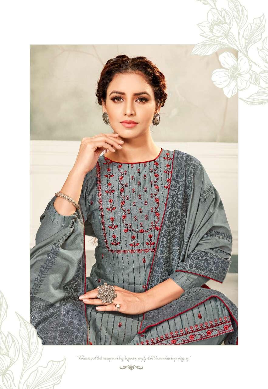 Brij Kora Vol 4 Salwar Suit Wholesale Catalog 8 Pcs 14 - Brij Kora Vol 4 Salwar Suit Wholesale Catalog 8 Pcs