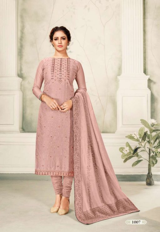 Brij Kora Vol 4 Salwar Suit Wholesale Catalog 8 Pcs 15 510x740 - Brij Kora Vol 4 Salwar Suit Wholesale Catalog 8 Pcs