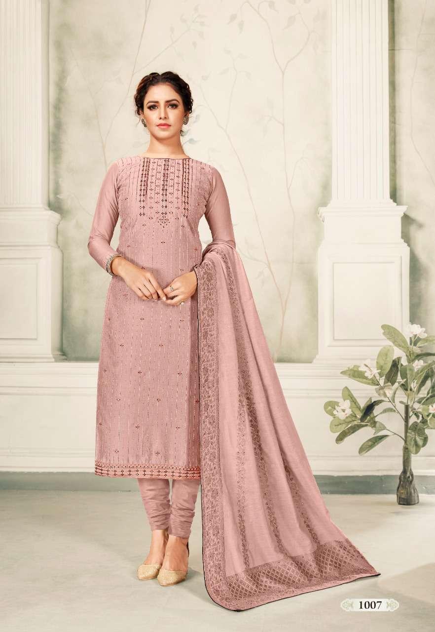 Brij Kora Vol 4 Salwar Suit Wholesale Catalog 8 Pcs 15 - Brij Kora Vol 4 Salwar Suit Wholesale Catalog 8 Pcs