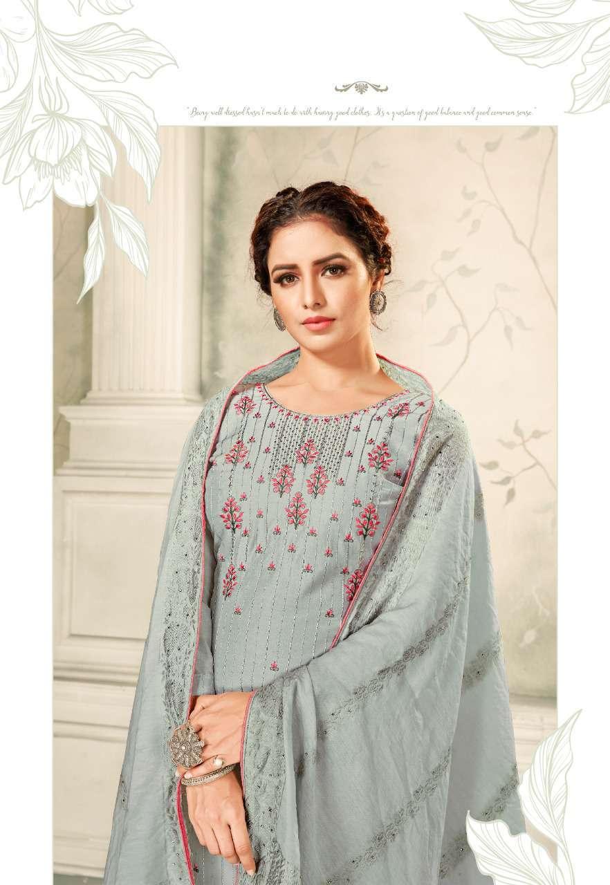 Brij Kora Vol 4 Salwar Suit Wholesale Catalog 8 Pcs 16 - Brij Kora Vol 4 Salwar Suit Wholesale Catalog 8 Pcs