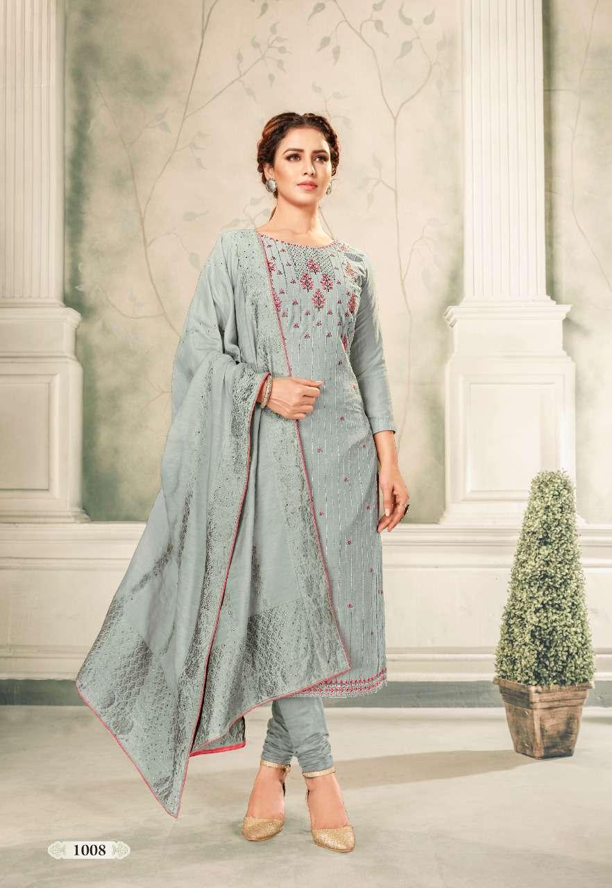 Brij Kora Vol 4 Salwar Suit Wholesale Catalog 8 Pcs 17 - Brij Kora Vol 4 Salwar Suit Wholesale Catalog 8 Pcs
