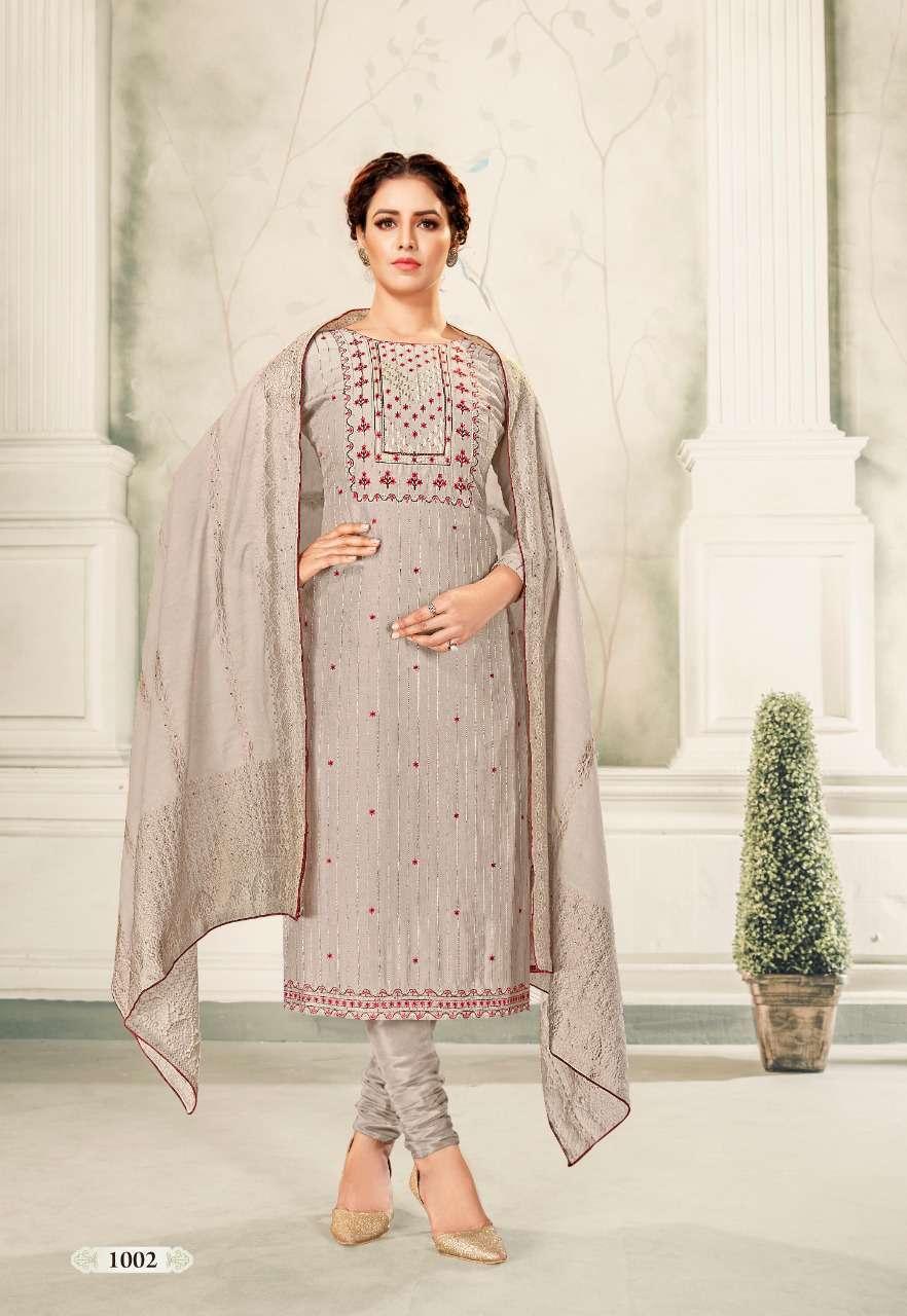 Brij Kora Vol 4 Salwar Suit Wholesale Catalog 8 Pcs 4 - Brij Kora Vol 4 Salwar Suit Wholesale Catalog 8 Pcs