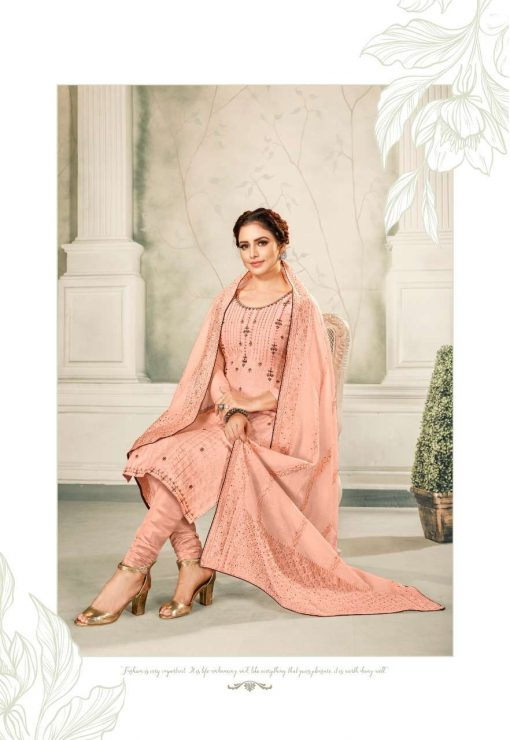 Brij Kora Vol 4 Salwar Suit Wholesale Catalog 8 Pcs 8 510x740 - Brij Kora Vol 4 Salwar Suit Wholesale Catalog 8 Pcs