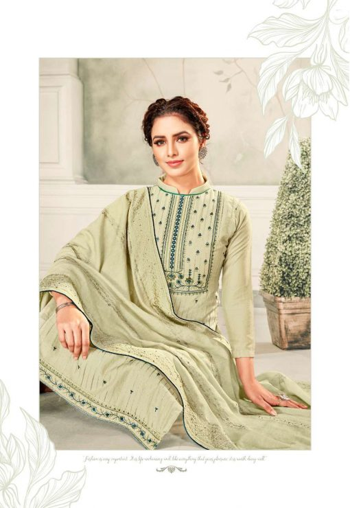 Brij Kora Vol 4 Salwar Suit Wholesale Catalog 8 Pcs 9 510x740 - Brij Kora Vol 4 Salwar Suit Wholesale Catalog 8 Pcs
