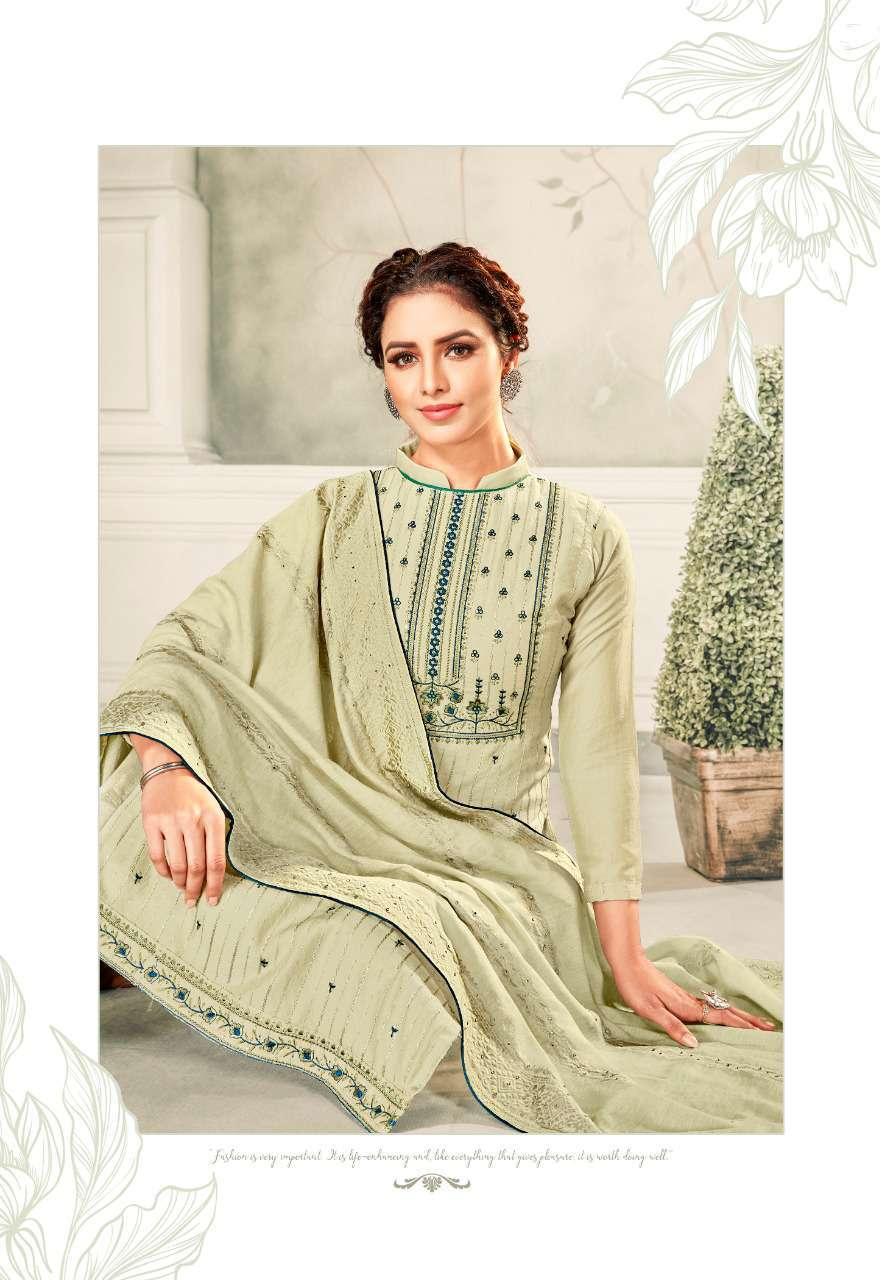 Brij Kora Vol 4 Salwar Suit Wholesale Catalog 8 Pcs 9 - Brij Kora Vol 4 Salwar Suit Wholesale Catalog 8 Pcs