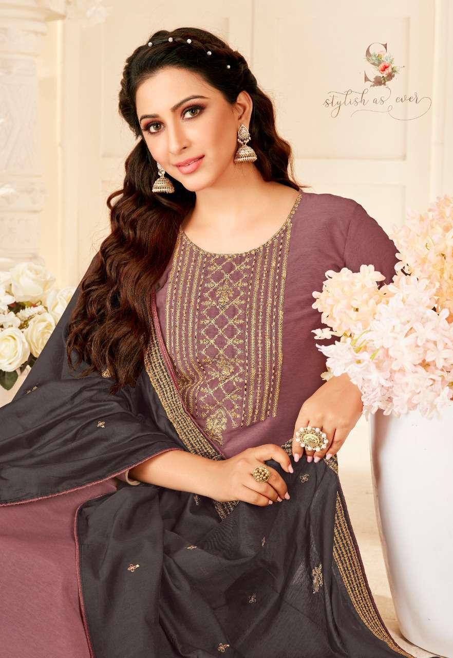 Brij Saira Salwar Suit Wholesale Catalog 8 Pcs 10 - Brij Saira Salwar Suit Wholesale Catalog 8 Pcs