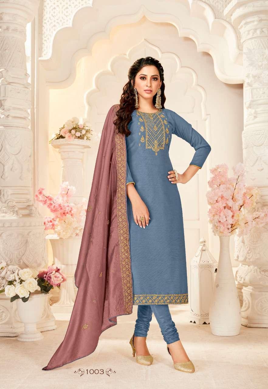 Brij Saira Salwar Suit Wholesale Catalog 8 Pcs 8 - Brij Saira Salwar Suit Wholesale Catalog 8 Pcs