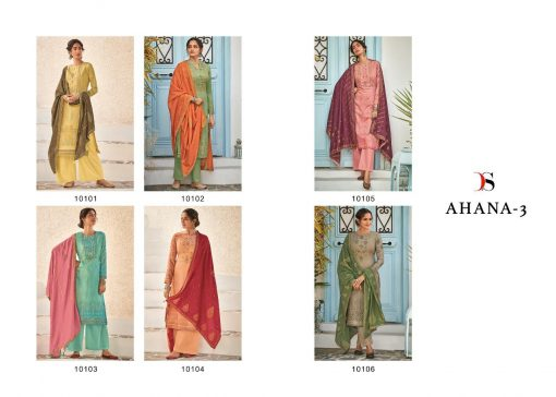 Deepsy Ahana Vol 3 Salwar Suit Wholesale Catalog 6 Pcs 10 510x364 - Deepsy Ahana Vol 3 Salwar Suit Wholesale Catalog 6 Pcs