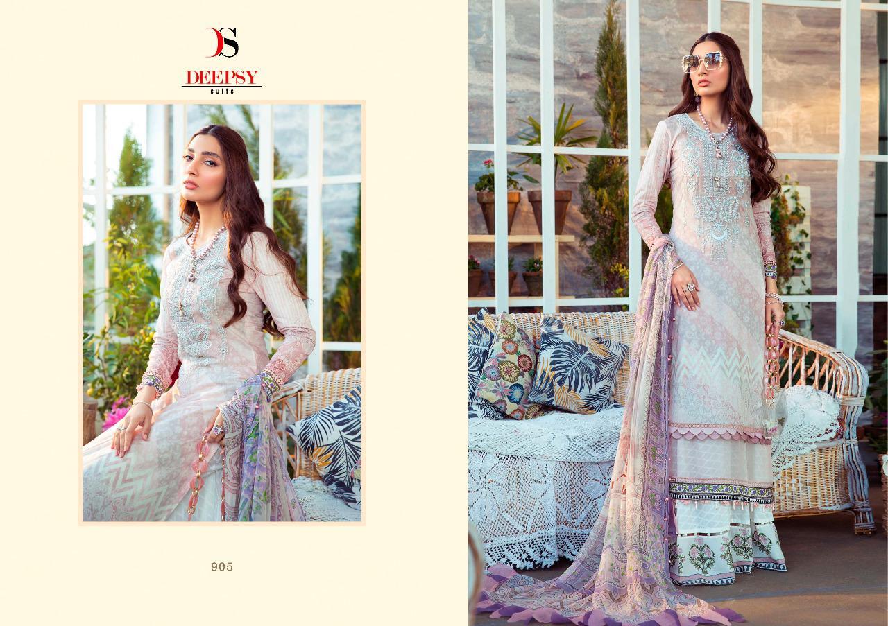 Deepsy Maria B M Print Salwar Suit Wholesale Catalog 8 Pcs 1 - Deepsy Maria B M Print Salwar Suit Wholesale Catalog 8 Pcs
