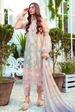 Deepsy Maria B M Print Salwar Suit Wholesale Catalog 8 Pcs