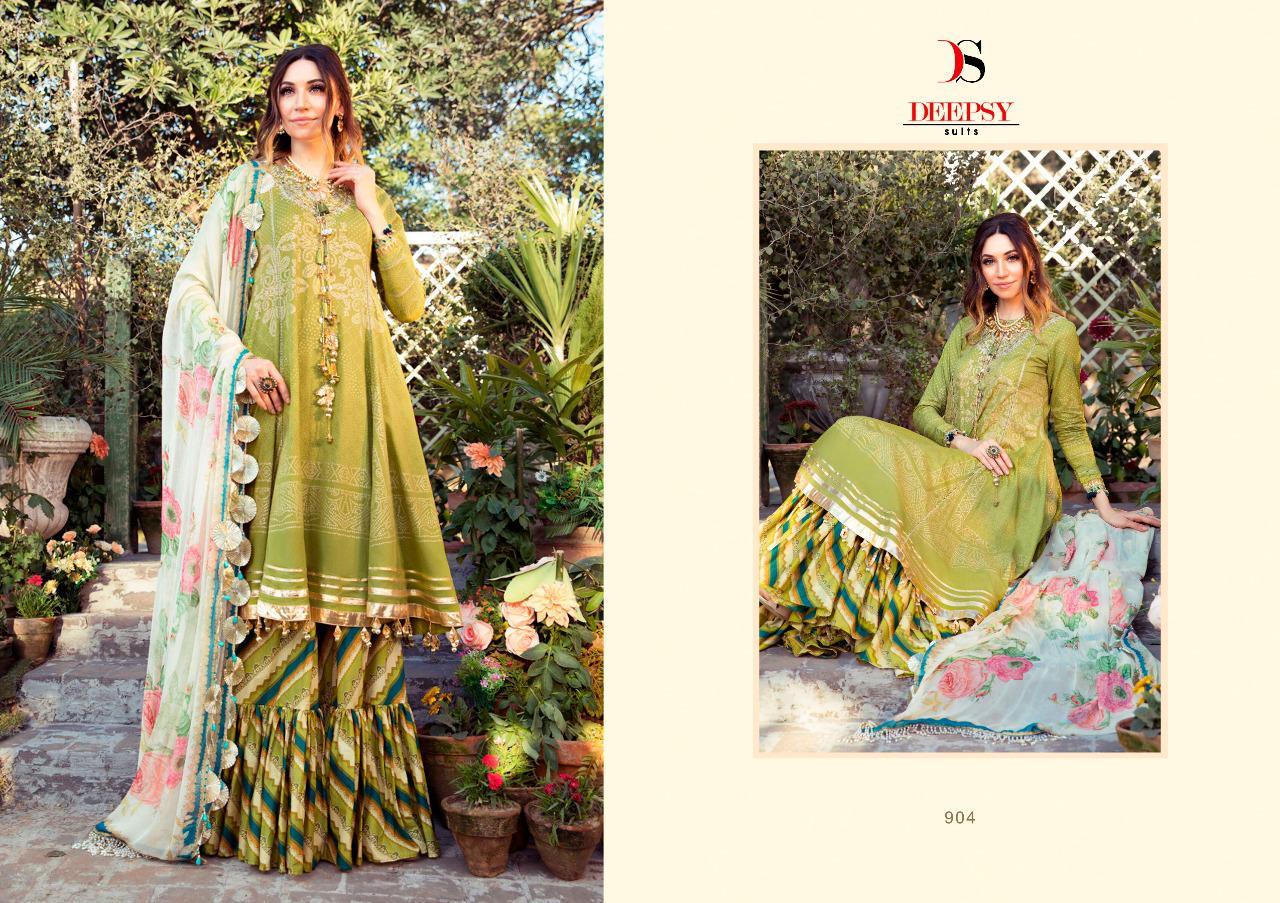 Deepsy Maria B M Print Salwar Suit Wholesale Catalog 8 Pcs 3 - Deepsy Maria B M Print Salwar Suit Wholesale Catalog 8 Pcs
