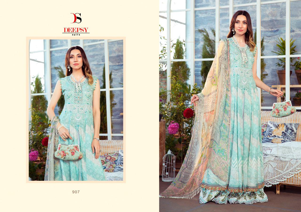 Deepsy Maria B M Print Salwar Suit Wholesale Catalog 8 Pcs 4 - Deepsy Maria B M Print Salwar Suit Wholesale Catalog 8 Pcs