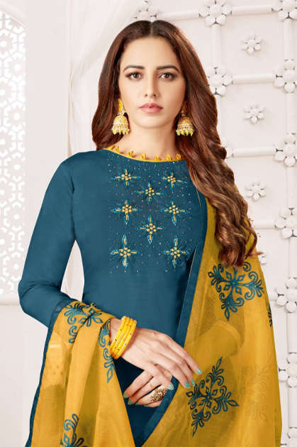 Fashion Floor Royal Touch Salwar Suit Wholesale Catalog 12 Pcs