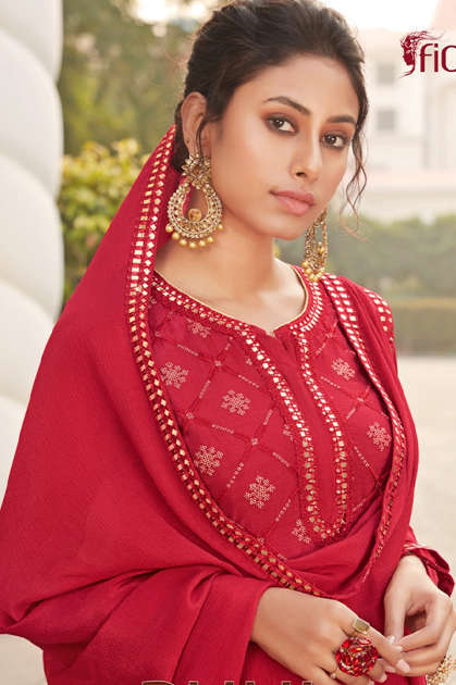 Fiona Ruhi Salwar Suit Wholesale Catalog 4 Pcs