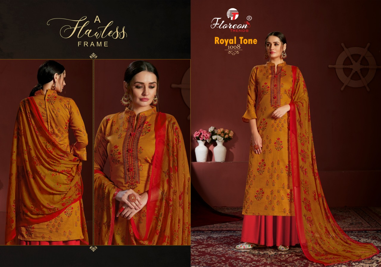Floreon Trends Royal Tone Salwar Suit Wholesale Catalog 10 Pcs 10 - Floreon Trends Royal Tone Salwar Suit Wholesale Catalog 10 Pcs