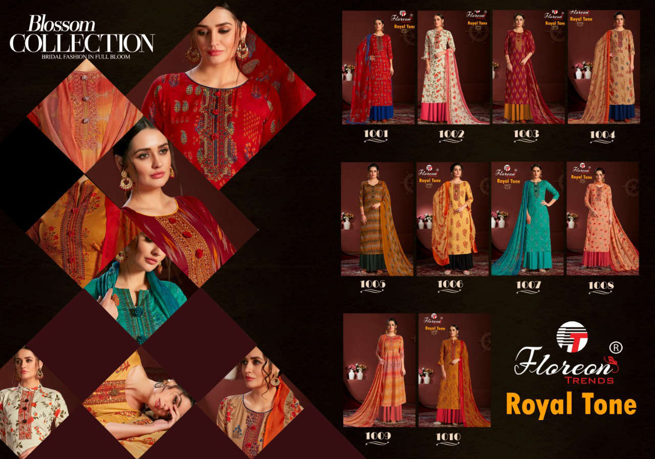 Floreon Trends Royal Tone Salwar Suit Wholesale Catalog 10 Pcs 11 1 - Floreon Trends Royal Tone Salwar Suit Wholesale Catalog 10 Pcs