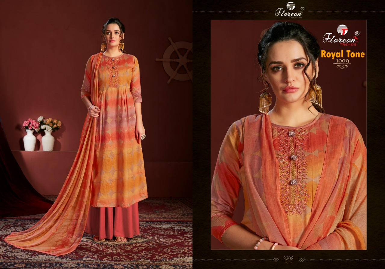 Floreon Trends Royal Tone Salwar Suit Wholesale Catalog 10 Pcs 9 - Floreon Trends Royal Tone Salwar Suit Wholesale Catalog 10 Pcs