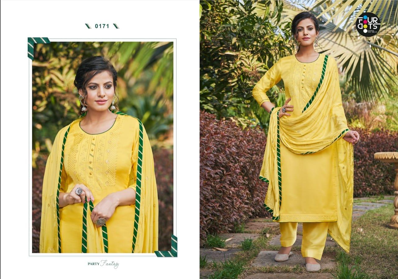 Four Dots Shubharambh Vol 3 by Kessi Salwar Suit Wholesale Catalog 4 Pcs 4 - Four Dots Shubharambh Vol 3 by Kessi Salwar Suit Wholesale Catalog 4 Pcs