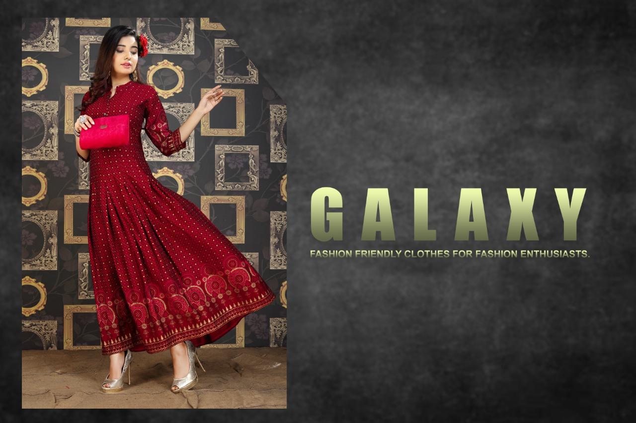 Galaxy Kurti Wholesale Catalog 8 Pcs 1 - Galaxy Kurti Wholesale Catalog 8 Pcs