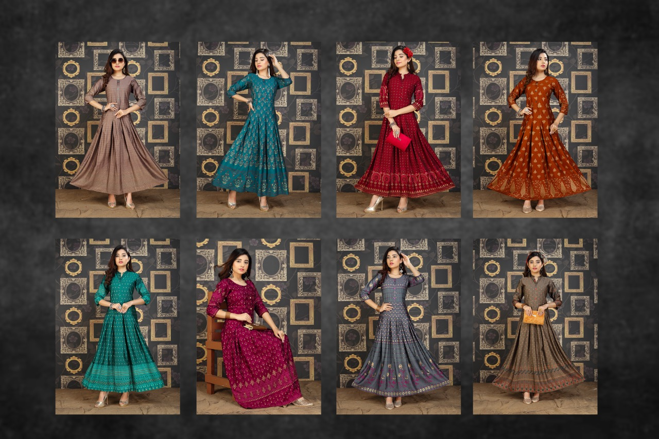Galaxy Kurti Wholesale Catalog 8 Pcs 10 - Galaxy Kurti Wholesale Catalog 8 Pcs