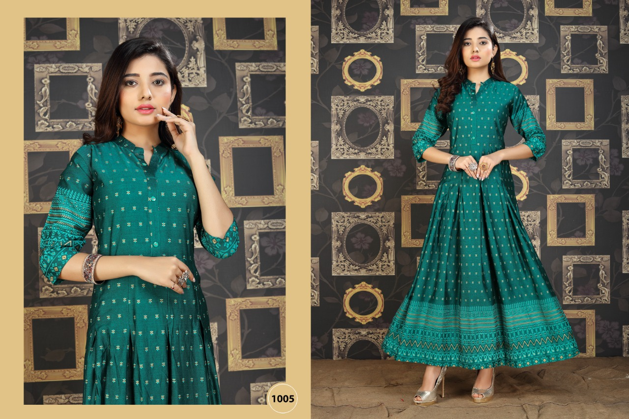 Galaxy Kurti Wholesale Catalog 8 Pcs 8 - Galaxy Kurti Wholesale Catalog 8 Pcs