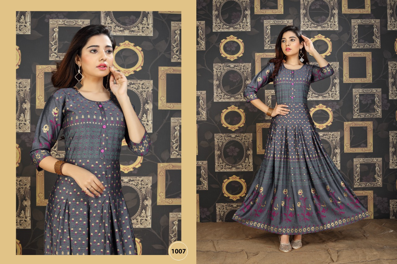 Galaxy Kurti Wholesale Catalog 8 Pcs 9 - Galaxy Kurti Wholesale Catalog 8 Pcs