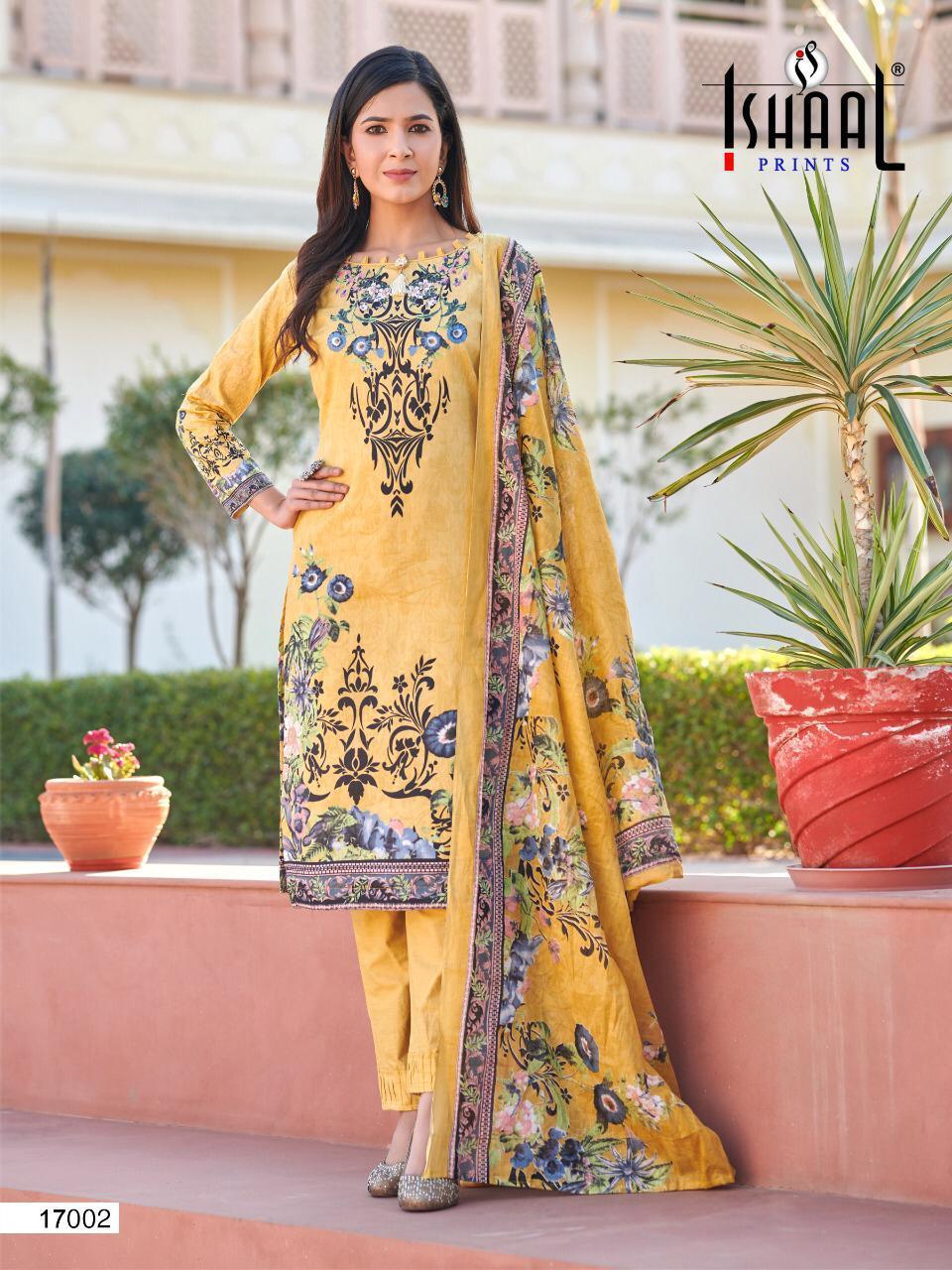 Ishaal Gulmohar Vol 17 Salwar Suit Wholesale Catalog 10 Pcs 1 - Ishaal Gulmohar Vol 17 Salwar Suit Wholesale Catalog 10 Pcs