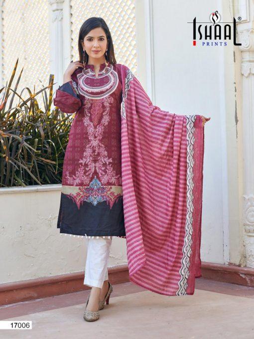 Ishaal Gulmohar Vol 17 Salwar Suit Wholesale Catalog 10 Pcs 17 510x680 - Ishaal Gulmohar Vol 17 Salwar Suit Wholesale Catalog 10 Pcs