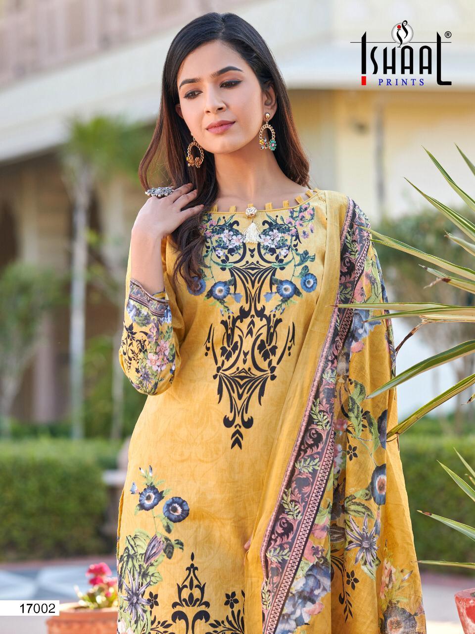 Ishaal Gulmohar Vol 17 Salwar Suit Wholesale Catalog 10 Pcs 20 - Ishaal Gulmohar Vol 17 Salwar Suit Wholesale Catalog 10 Pcs