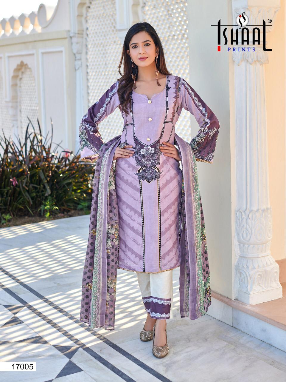 Ishaal Gulmohar Vol 17 Salwar Suit Wholesale Catalog 10 Pcs 3 - Ishaal Gulmohar Vol 17 Salwar Suit Wholesale Catalog 10 Pcs