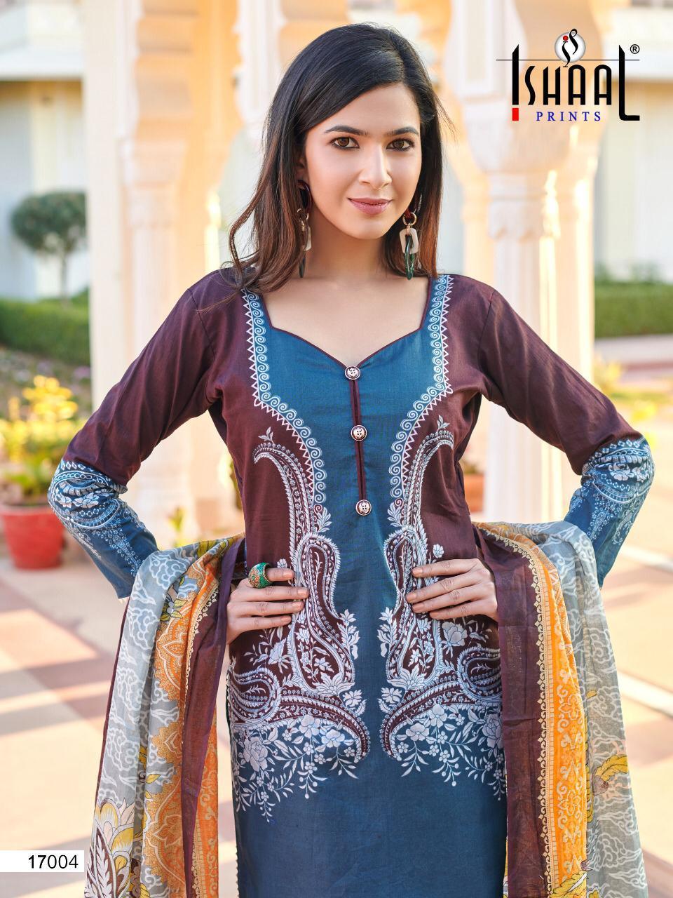 Ishaal Gulmohar Vol 17 Salwar Suit Wholesale Catalog 10 Pcs 5 - Ishaal Gulmohar Vol 17 Salwar Suit Wholesale Catalog 10 Pcs