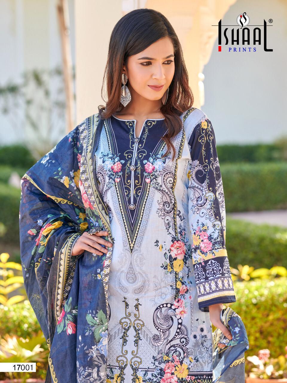 Ishaal Gulmohar Vol 17 Salwar Suit Wholesale Catalog 10 Pcs 7 - Ishaal Gulmohar Vol 17 Salwar Suit Wholesale Catalog 10 Pcs