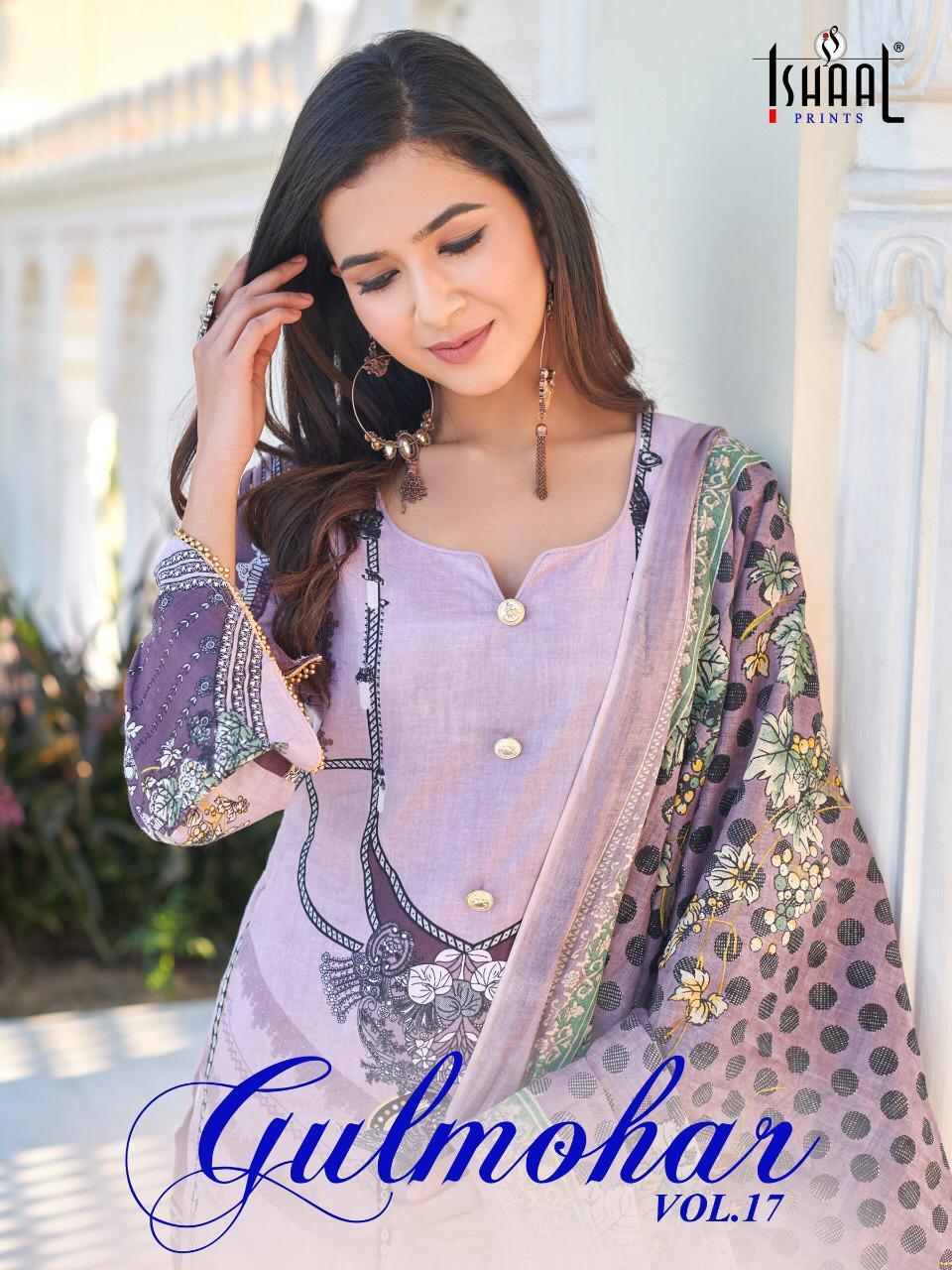 Ishaal Gulmohar Vol 17 Salwar Suit Wholesale Catalog 10 Pcs 9 - Ishaal Gulmohar Vol 17 Salwar Suit Wholesale Catalog 10 Pcs