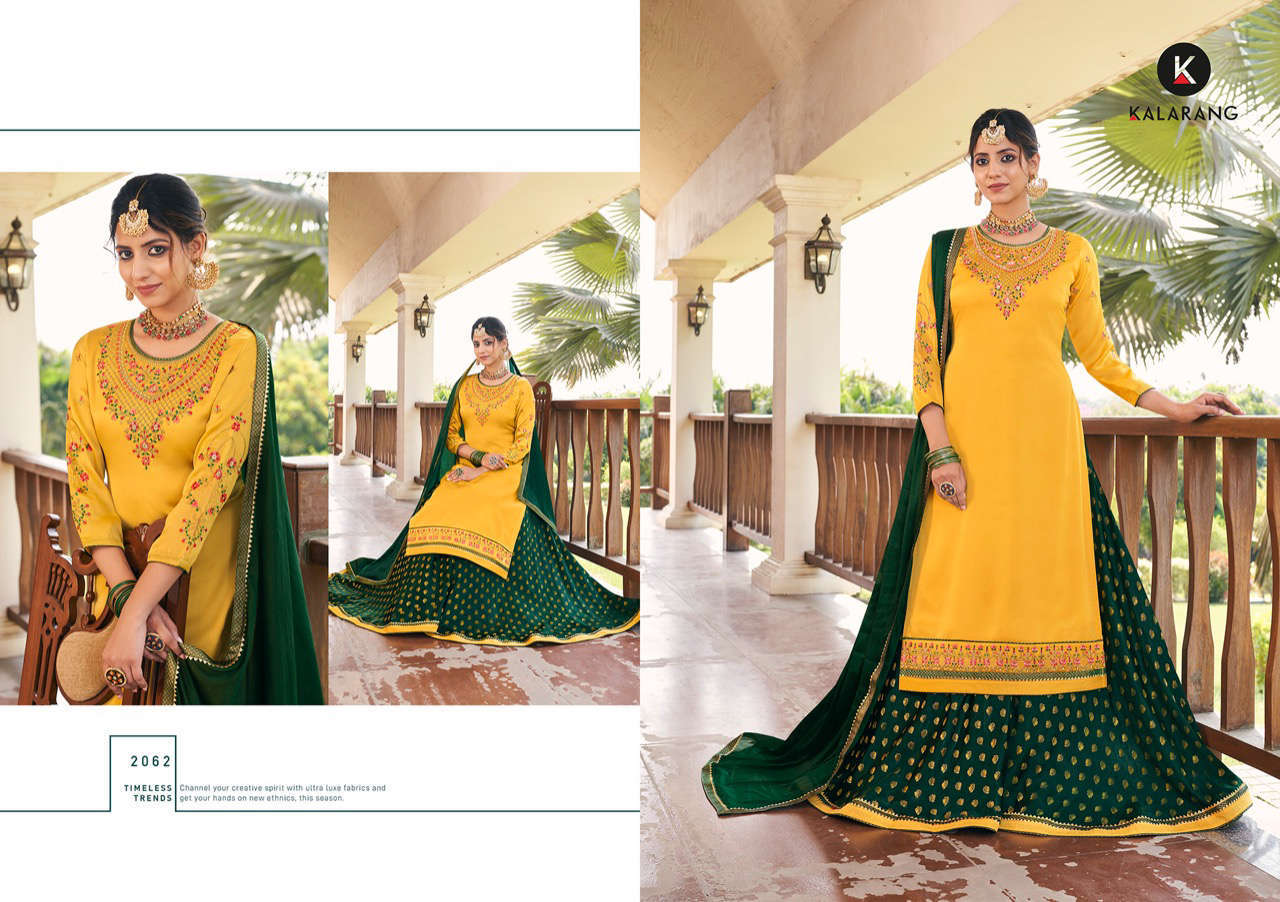 Kalarang Blue Berry Vol 4 by Kessi Salwar Suit Wholesale Catalog 4 Pcs 2 - Kalarang Blue Berry Vol 4 by Kessi Salwar Suit Wholesale Catalog 4 Pcs