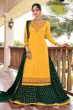 Kalarang Blue Berry Vol 4 by Kessi Salwar Suit Wholesale Catalog 4 Pcs
