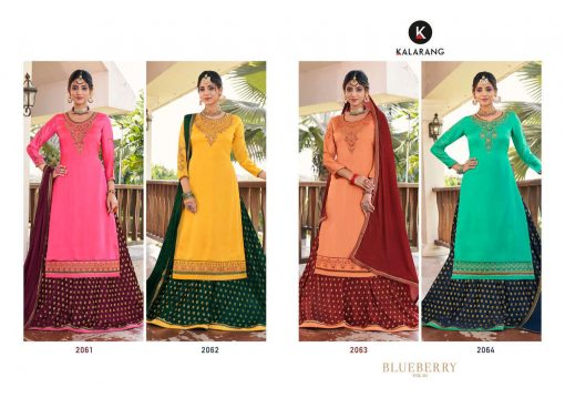 Kalarang Blue Berry Vol 4 by Kessi Salwar Suit Wholesale Catalog 4 Pcs 6 510x359 - Kalarang Blue Berry Vol 4 by Kessi Salwar Suit Wholesale Catalog 4 Pcs
