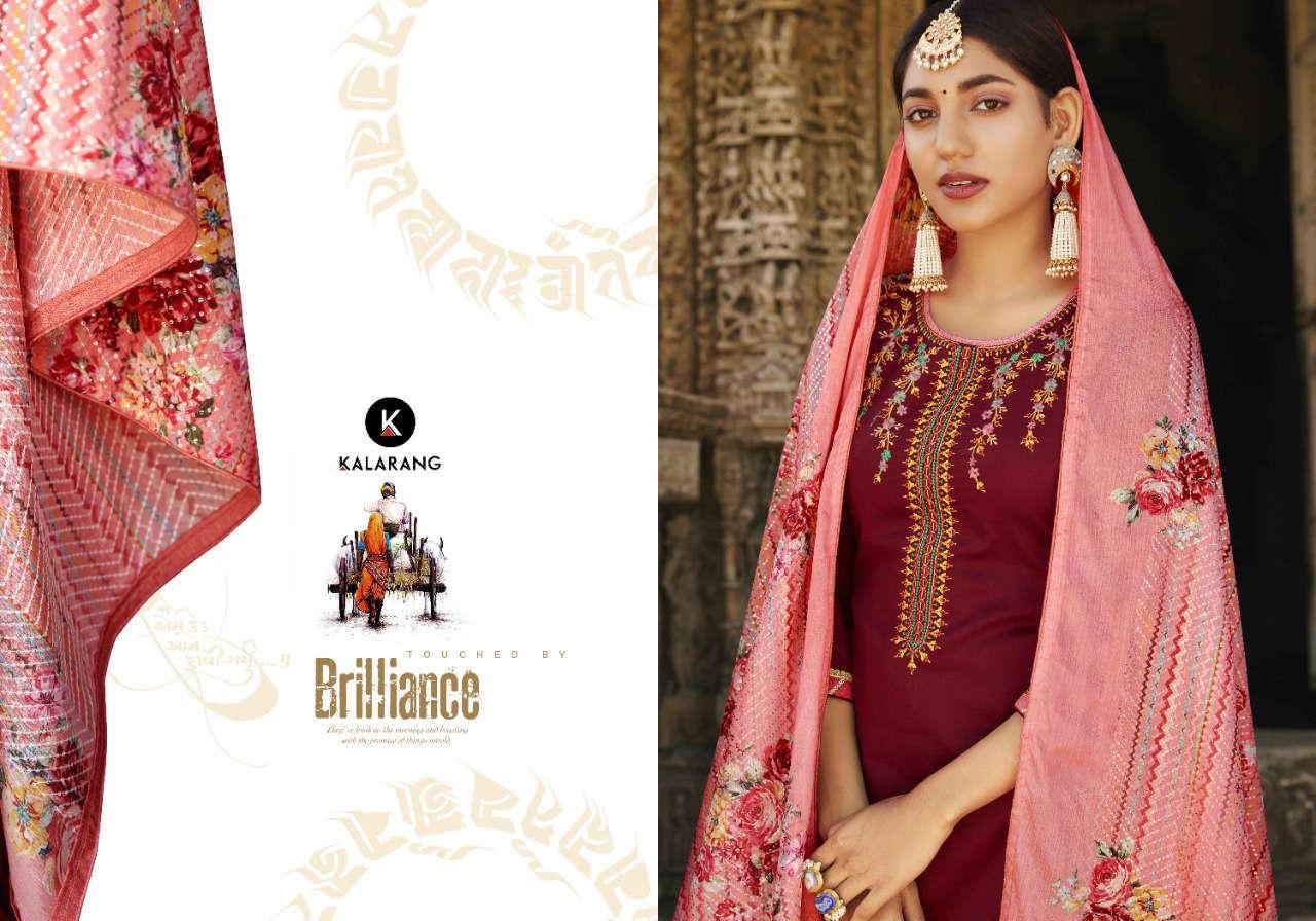 Kalarang Kanika by Kessi Salwar Suit Wholesale Catalog 4 Pcs 1 - Kalarang Kanika by Kessi Salwar Suit Wholesale Catalog 4 Pcs