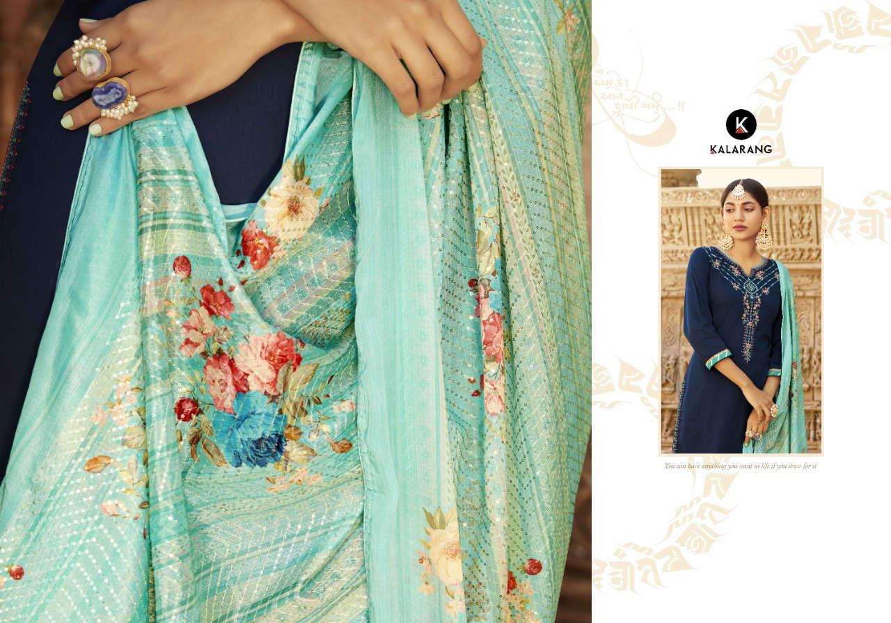 Kalarang Kanika by Kessi Salwar Suit Wholesale Catalog 4 Pcs 5 - Kalarang Kanika by Kessi Salwar Suit Wholesale Catalog 4 Pcs