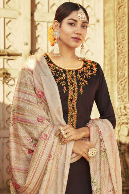 Kalarang Kanika by Kessi Salwar Suit Wholesale Catalog 4 Pcs
