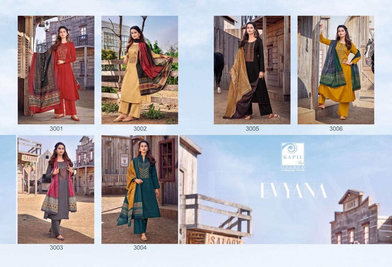 Kapil Trendz Evyana Salwar Suit Wholesale Catalog 6 Pcs 10 - Kapil Trendz Evyana Salwar Suit Wholesale Catalog 6 Pcs
